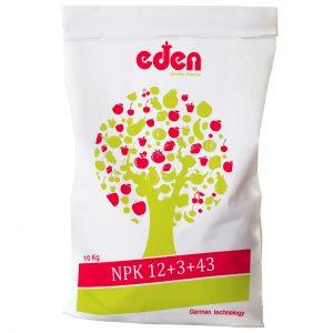 کود کامل ادن NPK 12-3-43